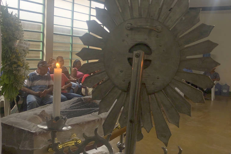 Enterro de sindicalista morto no Pará
