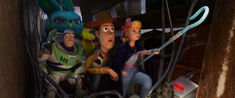 Cenas do filme 'Toy Story 4'
