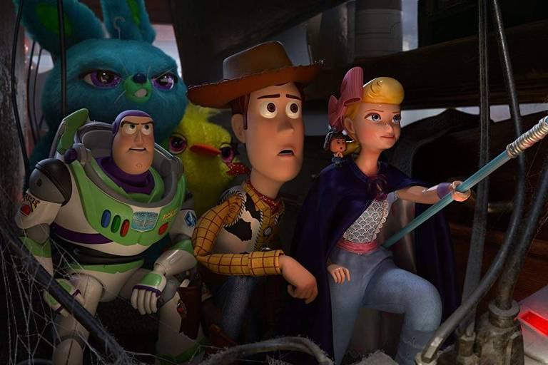 """Cena de """"Toy Story 4"""""""