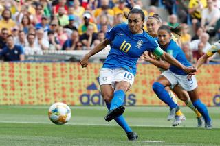 Women's World Cup - Group C - Australia v Brazil