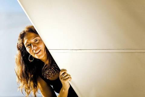 ORG XMIT: 424501_0.tif Raquel Barros, terceiro lugar na premiação Empreendedor Social, com a Associação Lua Nova.  (Sorocaba, SP, 13.10.2008. Foto de Renato Stockler/NaLata)