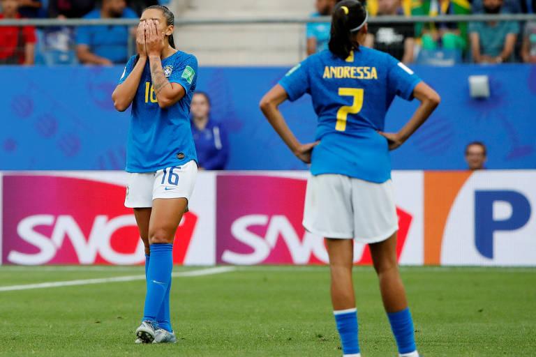 Lances de Austrália 3 x 2 Brasil