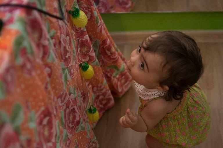 Espaço de interação entre crianças e adultos promove edição junina