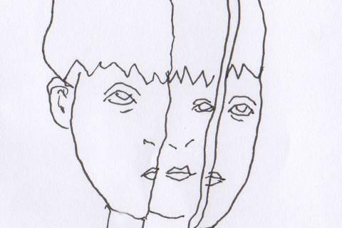 Ilustração do caderno da 63ª Turma de Trainees da Folha sobre transtorno psiquiatrico em adolescentes Credito:  Estela May  Galeria 6