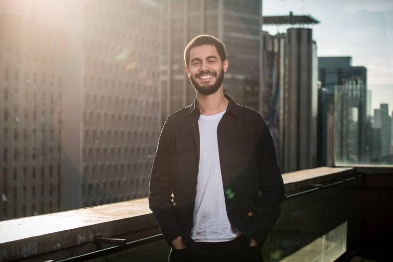 O neurocientista Gabriel Camargo de Carvalho, 27