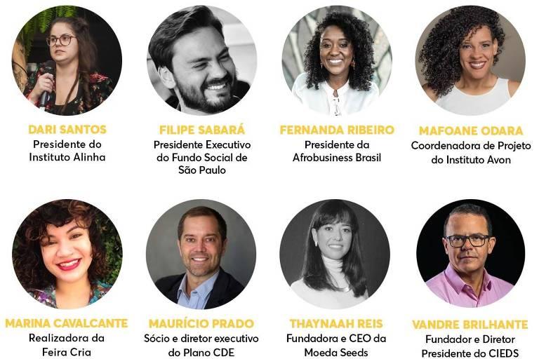 Participantes do Fórum Brasileiro de Microempreendedorismo