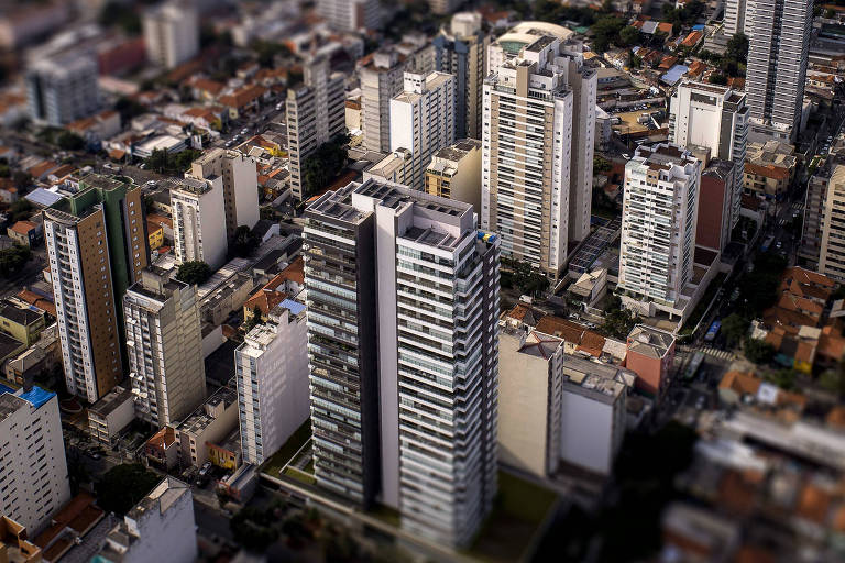Prédios no bairro de Pinheiros, na zona oeste de São Paulo