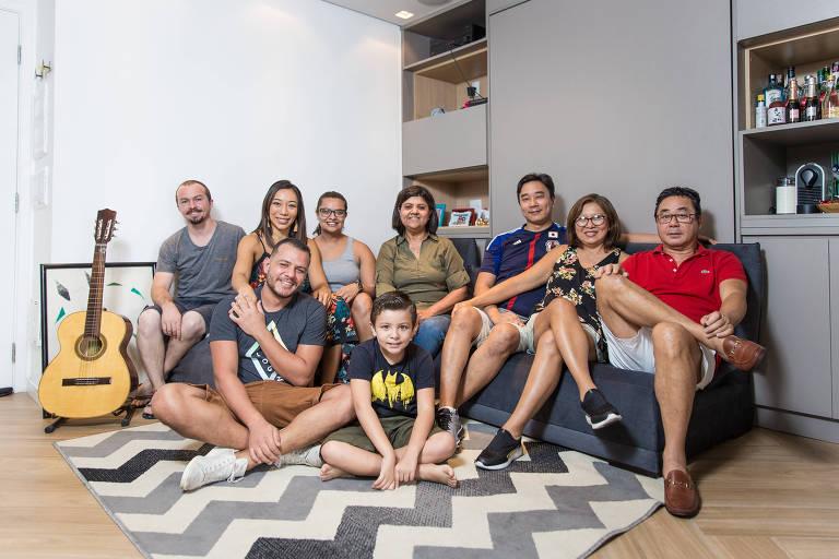 Casal troca imóvel maior por menor e vira anfitrião da família