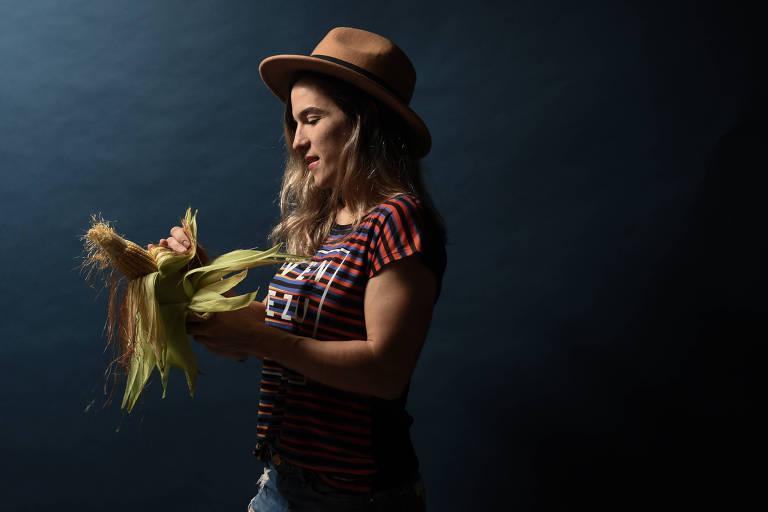 Paola Ramirez, dona do restaurante de comida venezuelana express Bom Tequenho