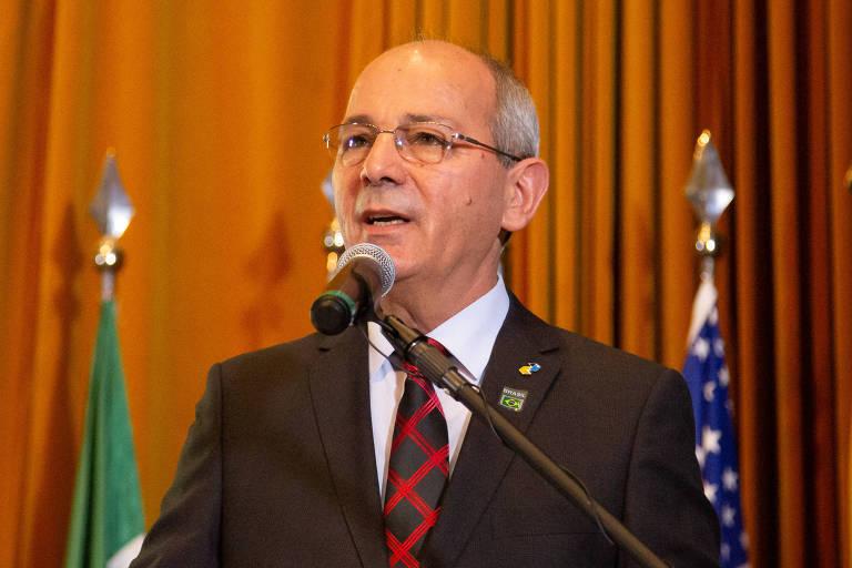 O agora ex-presidente dos Correios, General Juarez Cunha