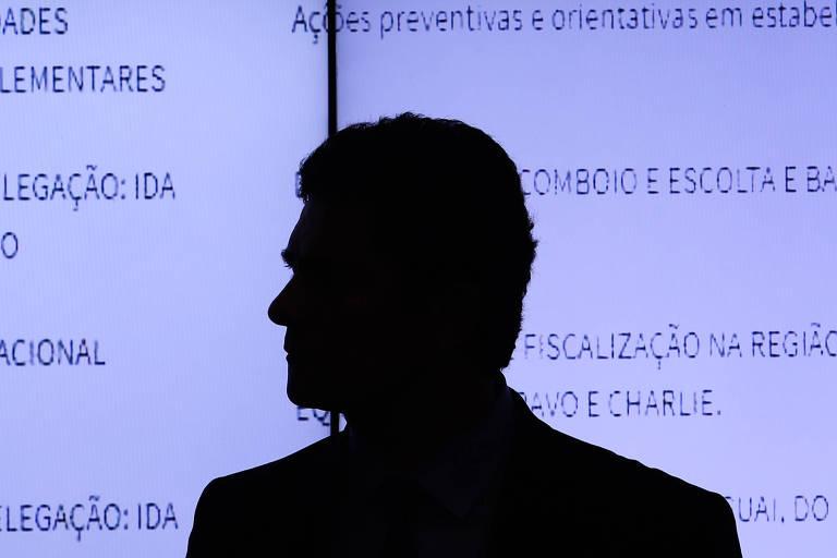 O ministro Sergio Moro, em evento em Brasília