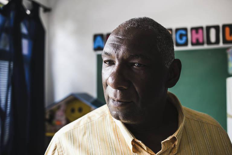 Manoel da Silva Filho, o Manelão, fundador da Creche Nossa Turma