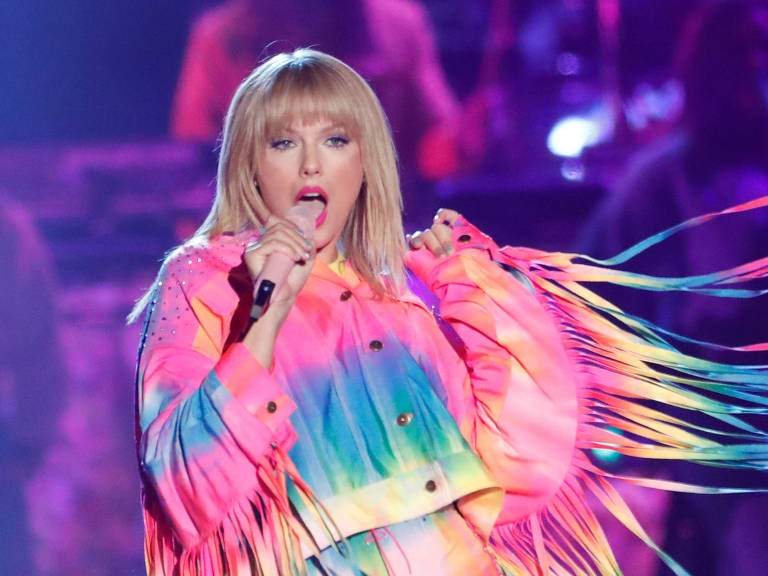 Taylor Swift no iHeartRadio Wango Tango