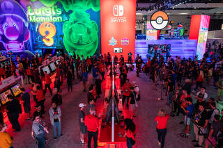 U.S.-LOS ANGELES-E3 GAMING CONVENTION
