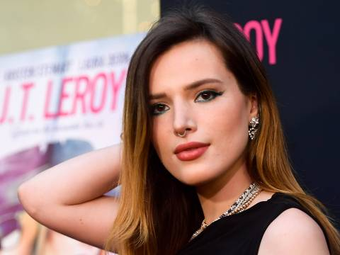 """HOLLYWOOD, CALIFORNIA - APRIL 24: Bella Thorne attends the LA premiere of Universal Pictures' """"J.T. Leroy"""" at ArcLight Hollywood on April 24, 2019 in Hollywood, California.   Matt Winkelmeyer/Getty Images/AFP == FOR NEWSPAPERS, INTERNET, TELCOS & TELEVISION USE ONLY =="""
