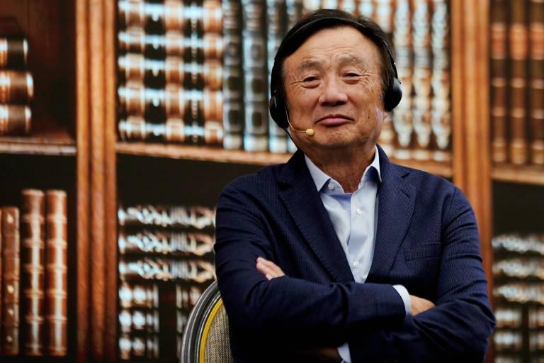 Presidente e fundador da Huawei, Ren Zhengfei