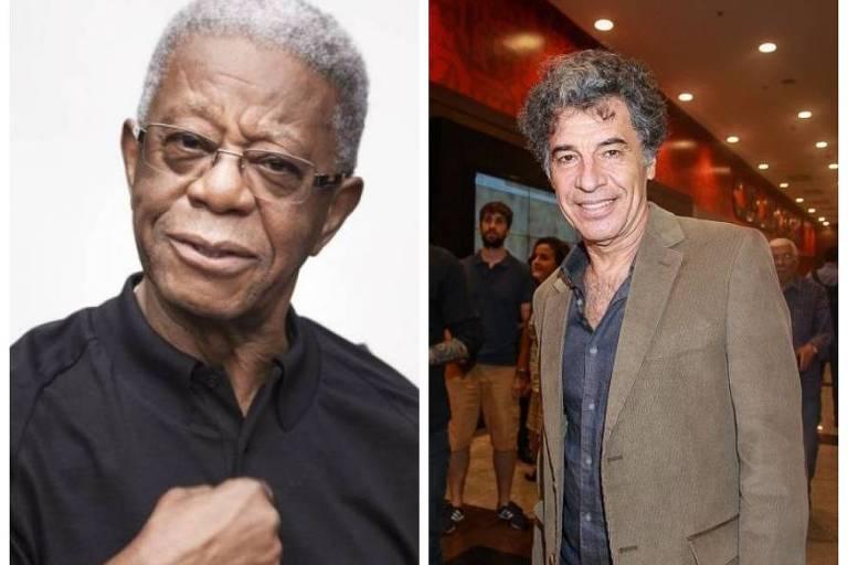 Milton Gonçalves e Paulo Betti: ação na justiça com acusação de racismo