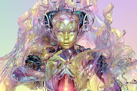 Obra que integra a exposição Björk Digital, no MIS