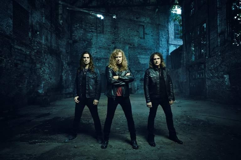 Veja fotos da banda Megadeth