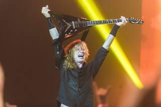 Dave Mustaine, vocalista do Megadeth está com câncer