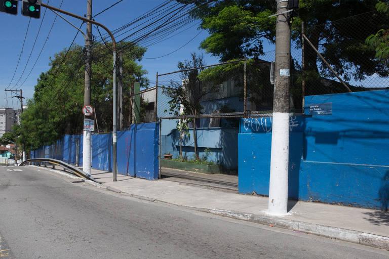 Escola estadual na zona norte de São Paulo