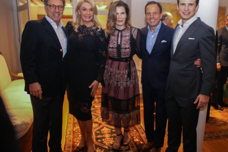 Jantar oferecido por Paulo Marinho, suplente do senador Flavio Bolsonaro, em homenagem a João Doria