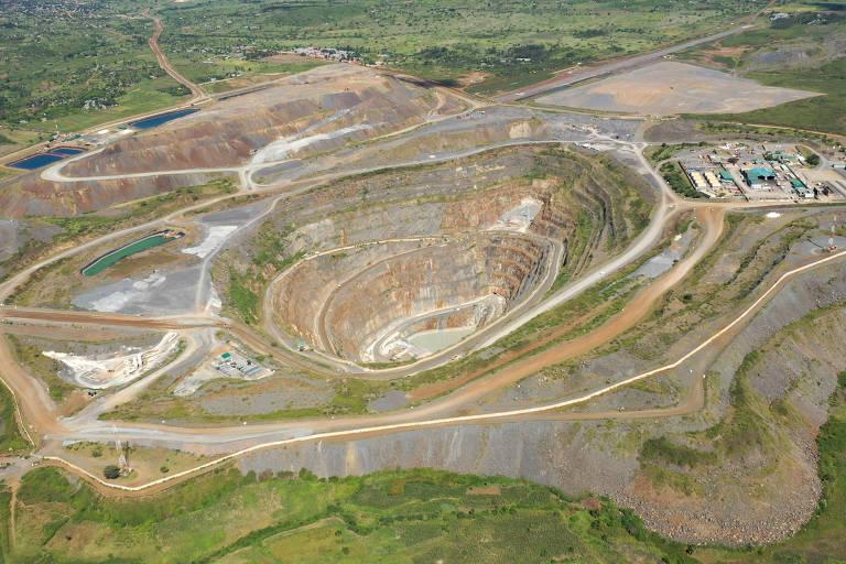 Mina de ouro na Tanzânia