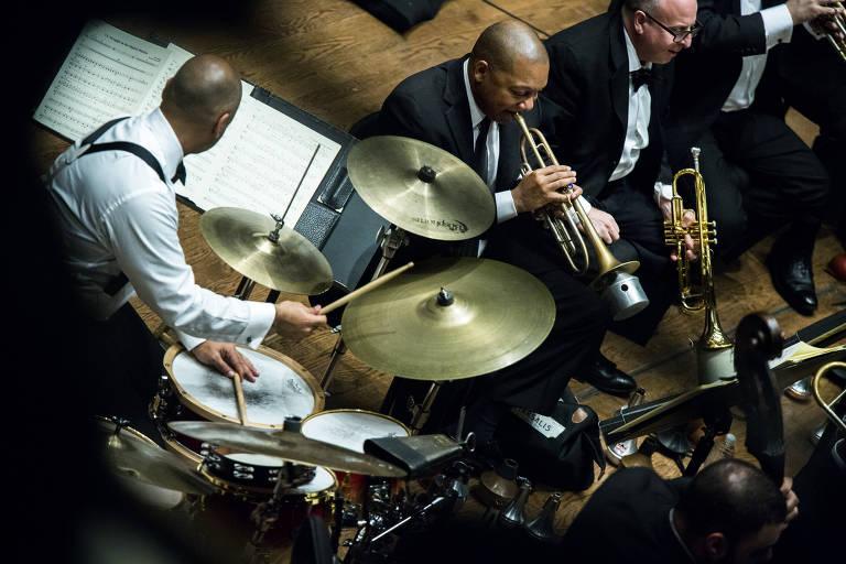 Veja fotos do trompetista americano Wynton Marsalis