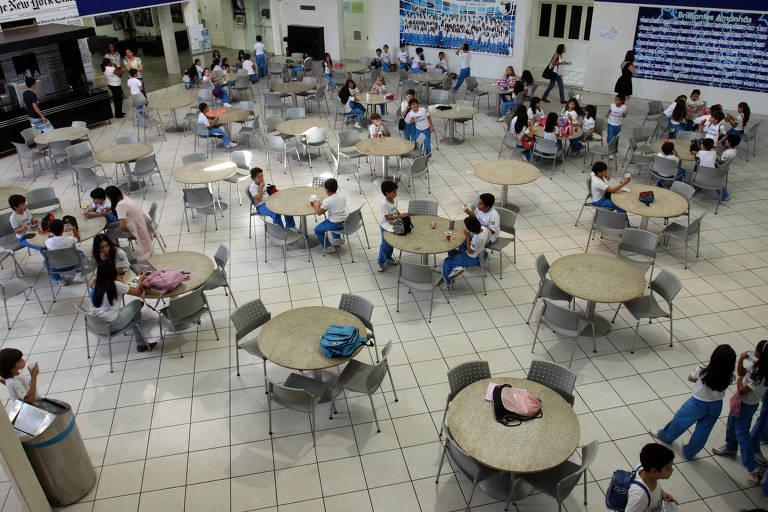 Instituto Dom Barreto, em Teresina, escola que ficou no topo do ranking do Enem em 2019