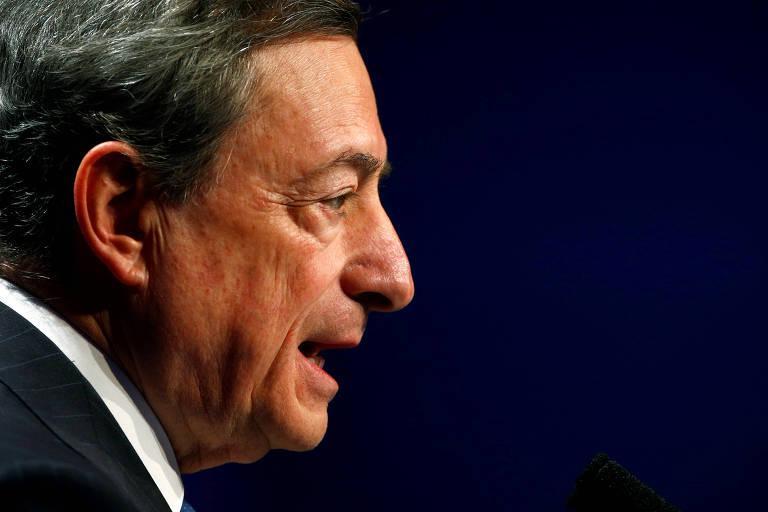 Presidente do Banco Central Europeu, Mario Draghi