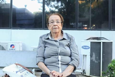 Walderez Moura, a sobrevivente sobrevivente de bombardeio