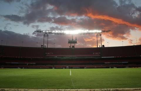 SAO PAULO,SP -  Morumbi: um palco em constante evolução Casa do Tricolor abre a Copa América recheada de modernizações importantes. (Foto: Saopaulofc.net/Divulgacao) Morumbii  *** AGORA SAO PAULO ***