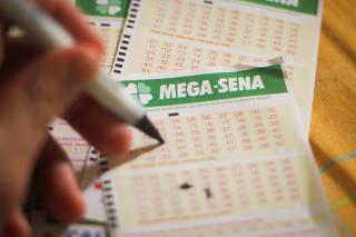 Volante de aposta da Mega-Sena