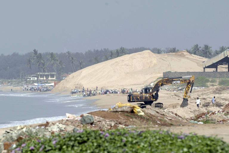 Máfias de areia na Índia