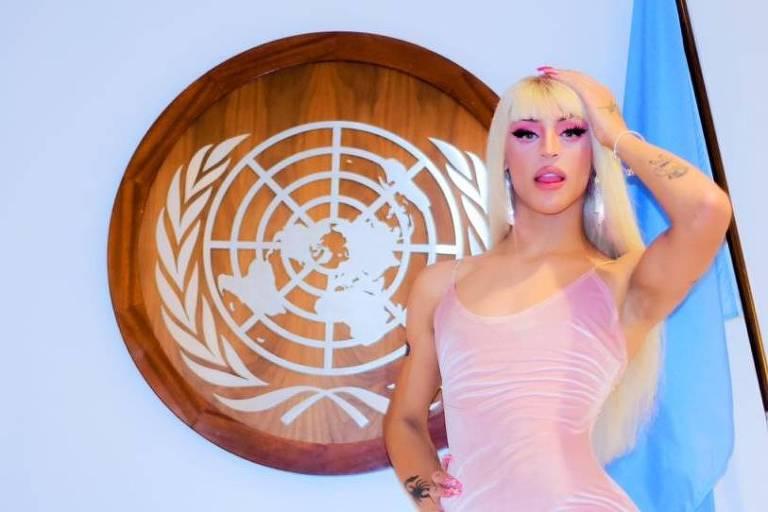 Pabllo Vittar na ONU