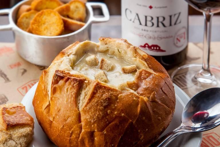 Bares e restaurantes incrementam menu com cremes e sopas durante o inverno