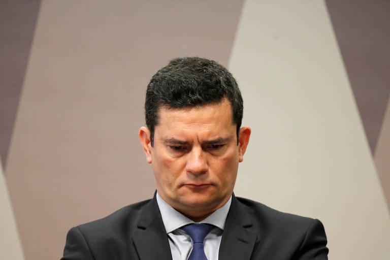 O ministro da Justiça, Sérgio Moro