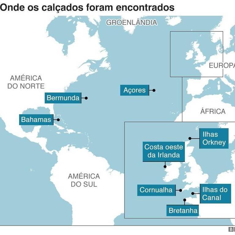 mapa marítimo