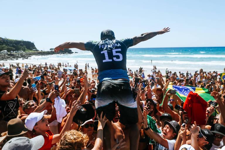 O 2019 de Italo Ferreira no surfe