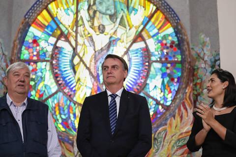 (Guaratinguetá - SP, 19/06/2019) Presidente da República, Jair Bolsonaro durante Visita ao Mosteiro das Irmãs Clarissas na Fazenda da Esperança. Foto: Marcos Corrêa/PR