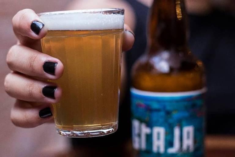 Cerveja do bar Graja Beer