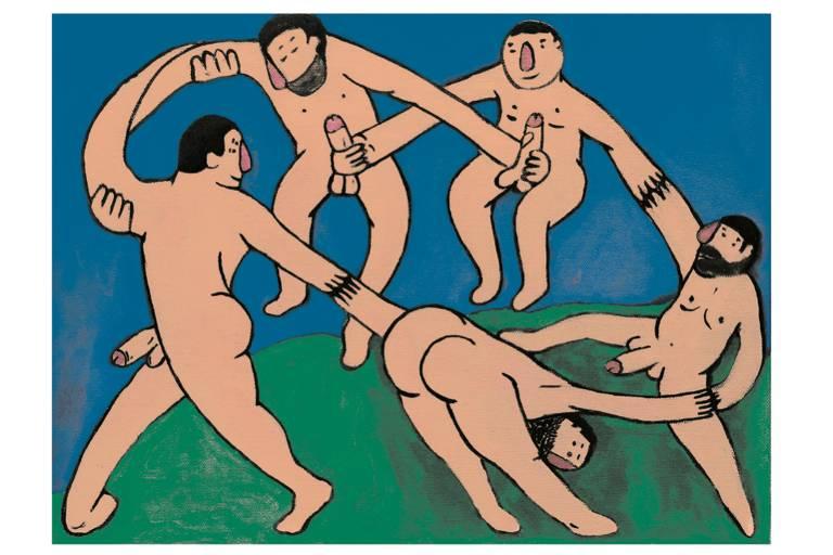 Obra exposta do artista plástico Carlos Radriguez