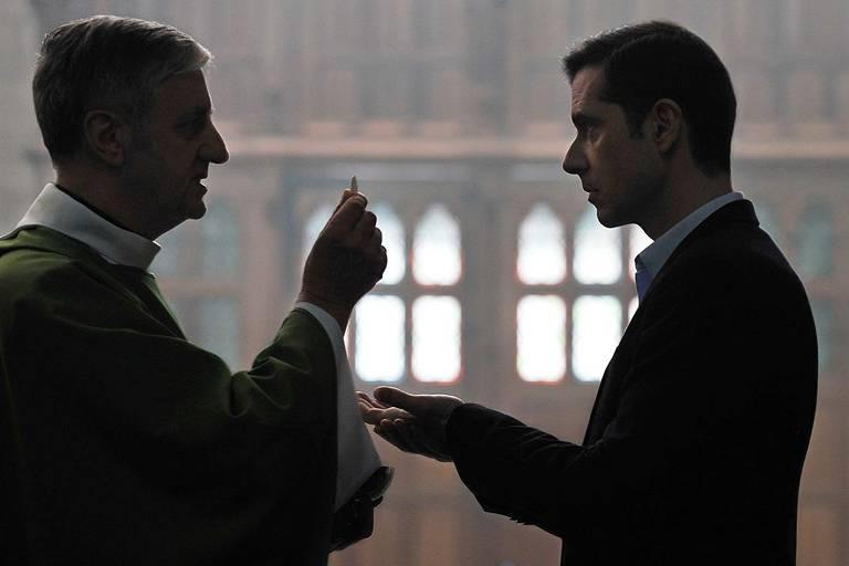 Melvil Poupaud em cena de 'Graças a Deus'