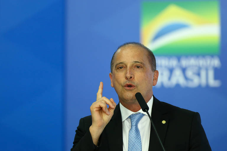 Ministro da Casa Civil Onyx Lorenzoni