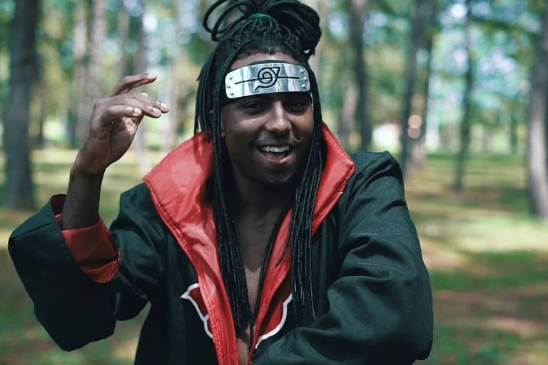 O MC Maha, em cena do clipe da música 'Konohatron'