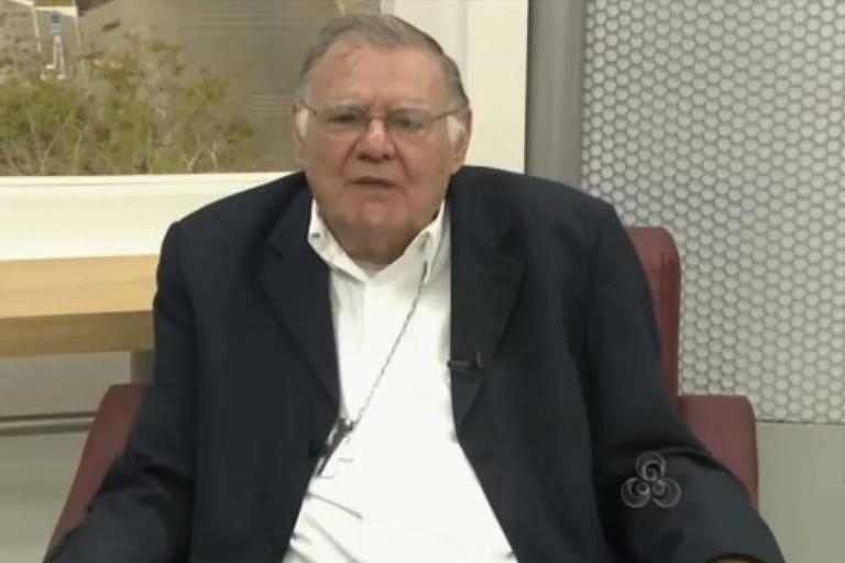 O bispo dom Moacyr Grechi