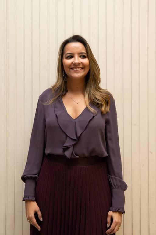 A coordenadora do livro, Regina Ferreira