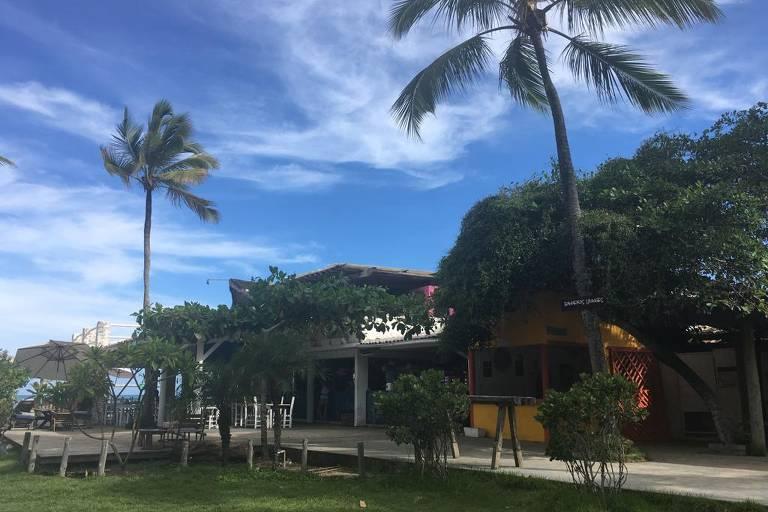 praia do Parracho, em Arraial D'Ajuda (BA)