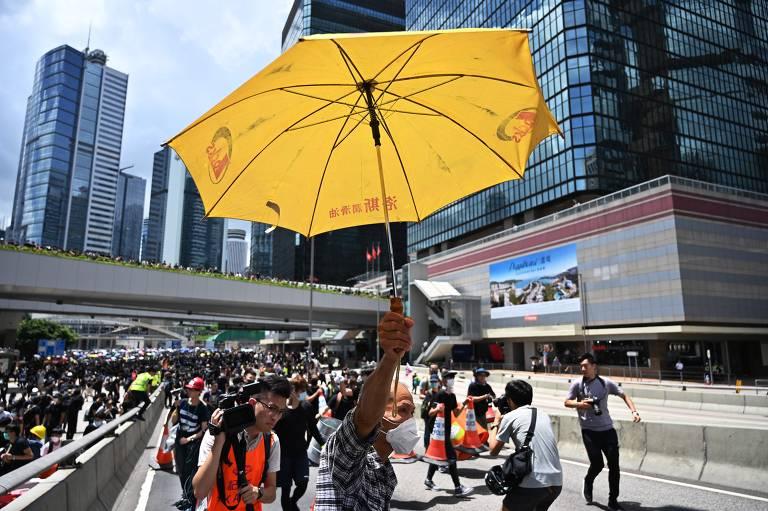 Quarto protesto em Hong Kong contra projeto de lei de extradição