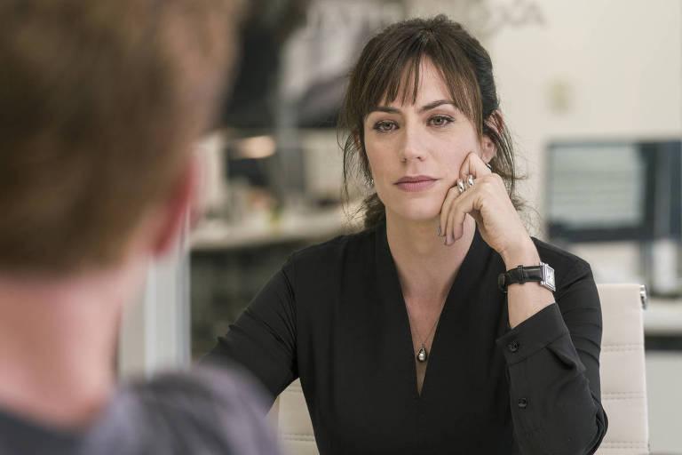 """A personagem da série Billions Wendy Rhodes (Maggie Siff), que atua como coach""""Reprodução"""